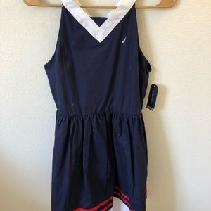 Navy blue nautica dress